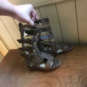 Shoes - Joyfolie Gladiators size 8